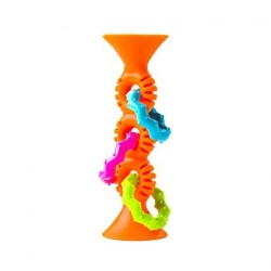 PipSquigz Loops Sensory Rattle - Fat Brain Toy