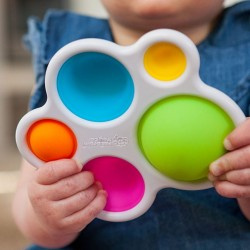 Jouet de bulles en silicone Dimpl - Fat Brain Toy Fat Brain Toy