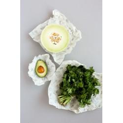 Emballage écologique pour aliments - Abeego - Trois grandeurs pour une versatilité exceptionnelle