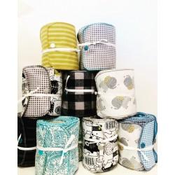 Rouleau de papier toilette réutilisable