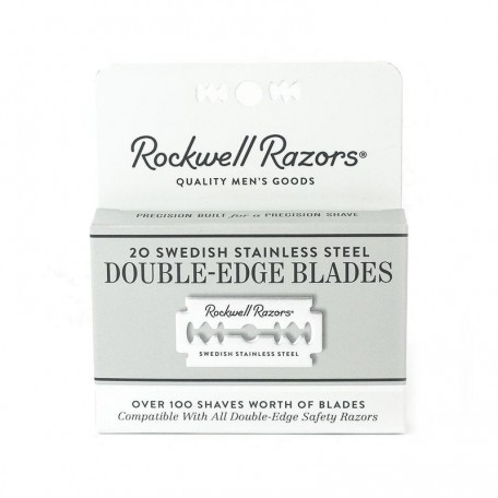 Rechargeable blades for razor - Rockwell
