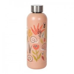 Stainless Bottle 17oz - Small World