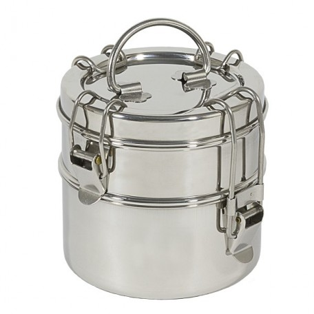 Snack Stack in Stainless Steel - To-Go Ware