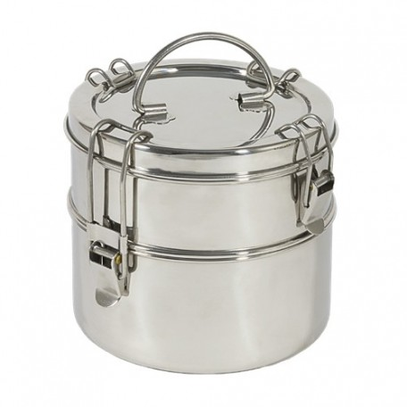 Stainless steel 2 tier carrier - To-Go Ware