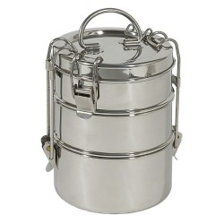 Three tier stainless steel container - To-Go Ware
