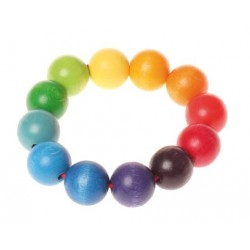 Grasping bead ring toy - Grimm's