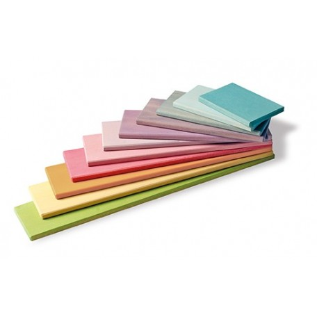 Wooden Pastel Building Boards - Grimm's