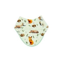 Little Fox Bib - Little Yogi
