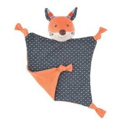 Peluche Biologique Frenchy Fox - Organic Farm Buddies