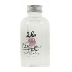 Bain moussant à l'huile d'olive 60 mL - Lolo