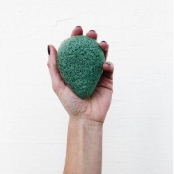 Konjac facial sponge green clay - BKIND