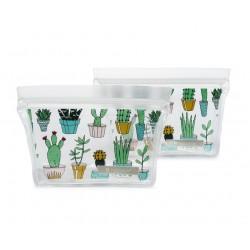 Sacs à collation réutilisables Ziptuck Cactus - Full Circle Full Circle
