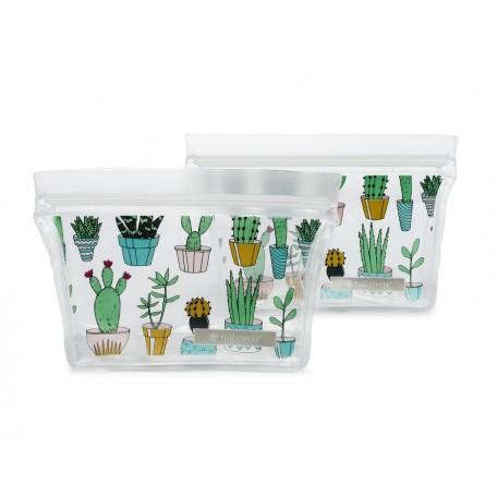 Ziptuck Reusable Snack Bags Cacti - Full Circle