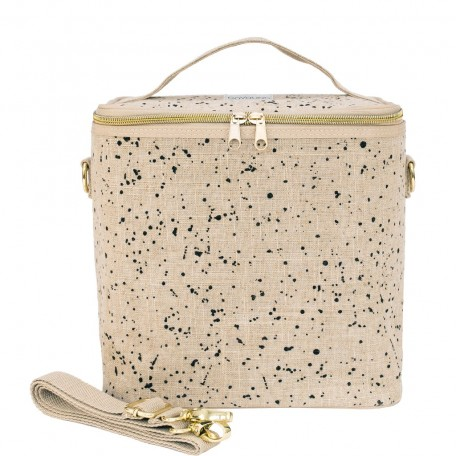 Raw Linen Insulated Cooler Bag Large - SoYoung