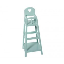 Chaise haute pour peluche bleue - Maileg Maileg