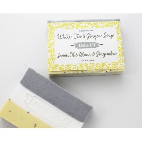 White Tea and Ginger Soap - Dot & Lil
