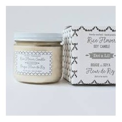 Rice Flower Soy Candle - Dot & Lil