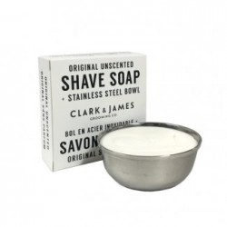 Shave soap puck Unscented - Dot & Lil