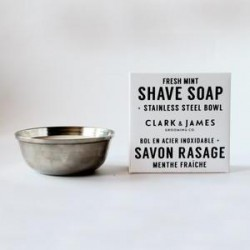 Shave soap puck Fresh Mint - Dot & Lil