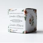 Lavender & Hibiscus sparkling milk bath cube - Dot & Lil