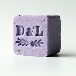 Cube lait bain effervescent lavande & hibiscus - Dot & Lil