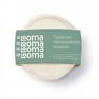 4 Tampons Démaquillants Lavables Bambou et Coton Biologique - La Looma La Looma