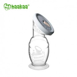 Silicone Breast Pump with Lid - Haaka