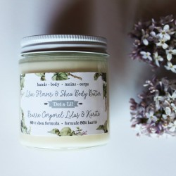 Lilac Flower and Shea Body Butter - Dot & Lil
