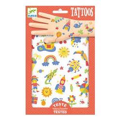 So Cute Tattoos - Djeco