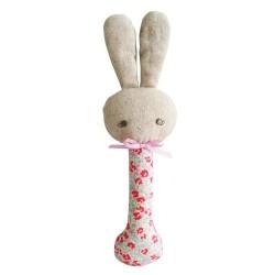 Rosie Bunny Rattle - Alimrose