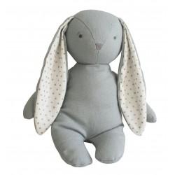 Bobby le lapin gris en peluche - Alimrose Alimrose