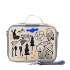 Insulated Lunch Box Raw Linen - SoYoung - Orange Fox