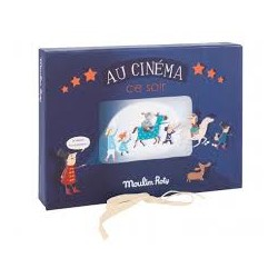 Little Wonders Theatre Storybook Lamp Box - Moulin Roty