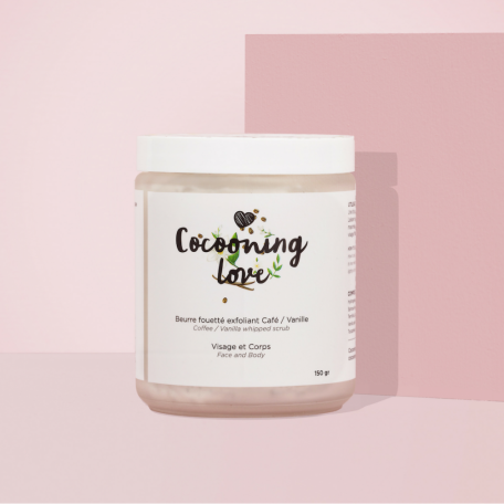 Coffee & Vanilla Exfoliating Whipped Butter - Cocooning Love