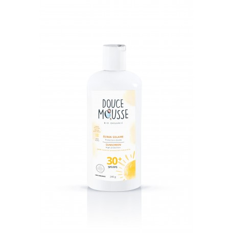 Organic Sunscreen 236 ml - Douce Mousse