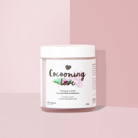 Purple Facial Mask - Cocooning Love