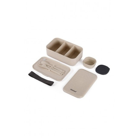 Bento Box with Utensils - Minimal