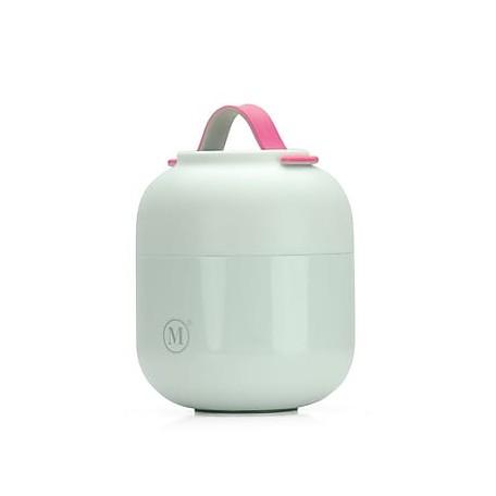 Medium White Insulated Food Jar - Minimal