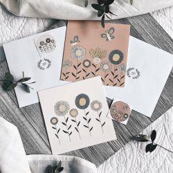 Cartes de souhaits par Natasha Prévost