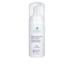 Mousse nettoyante effet apaisant NITA - Zorah Zorah Biocosmétiques