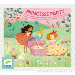 Coffret fête d'anniversaire Princess Party - Djeco