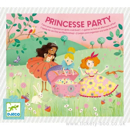 Princess Party Entertaining Box - Djeco