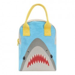 Zipper Lunch Bag Mega Shark - Fluf