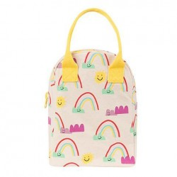 Zipper Lunch Bag Mega Rainbows - Fluf