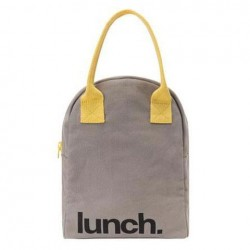 Sac à Lunch Grey Yellow - Fluf Fluf