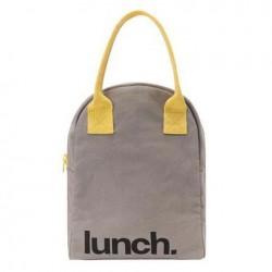 Sac à Lunch Mega Grey Yellow - Fluf Fluf