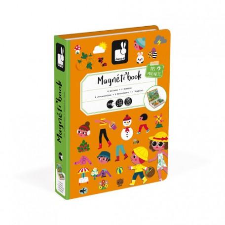 Magnéti'Book 4 Saisons, jeu magnétique - Janod JANOD