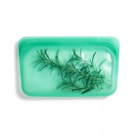 Small Silicone Snack Bag - Stasher - Aqua