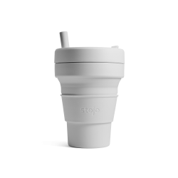 Collapsible Cup Biggie 16 Oz Steel - Stojo