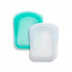 Pocket silicone bags - 2 pack bundle - Stasher
